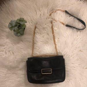 Marc Jacobs blk leather handbag